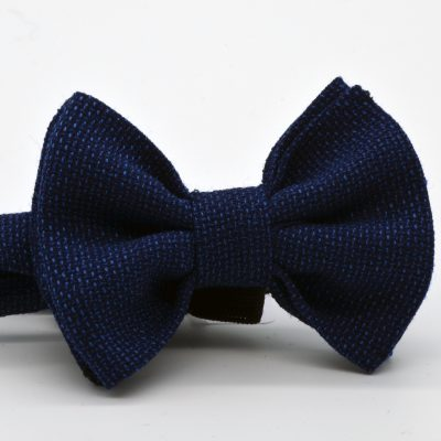 Dark Blue Mesh Butterfly Boy's Bow Tie