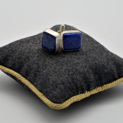 Cuff Links with Lapis Lazulis