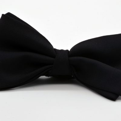 Black Butterfly with a Twist Bow Tie