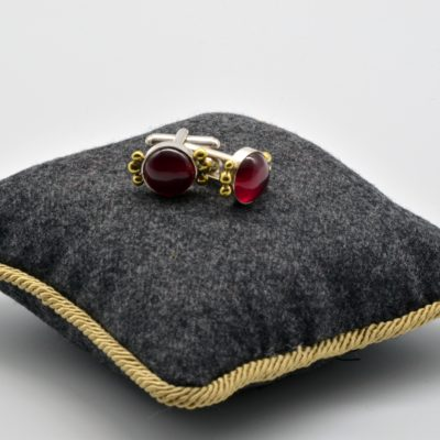 Ruby Cuff Links